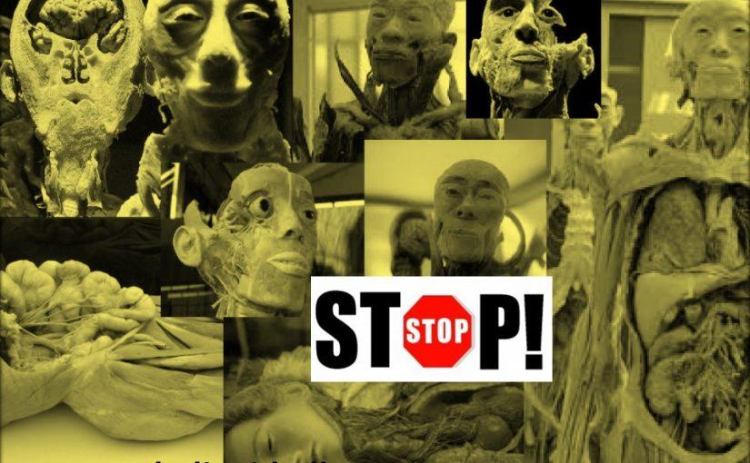 Nota de prensa: STOP Human Bodies, Barcelona